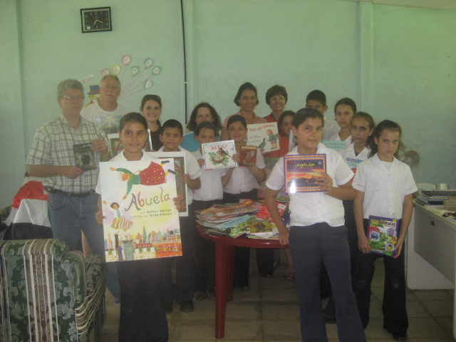 Donations of Books to Sarapiqui
